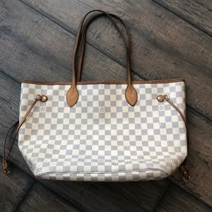 Louis Vuitton neverfull MM Damier Azur canvas 💓